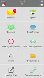 Screenshot SchouderCom School-App